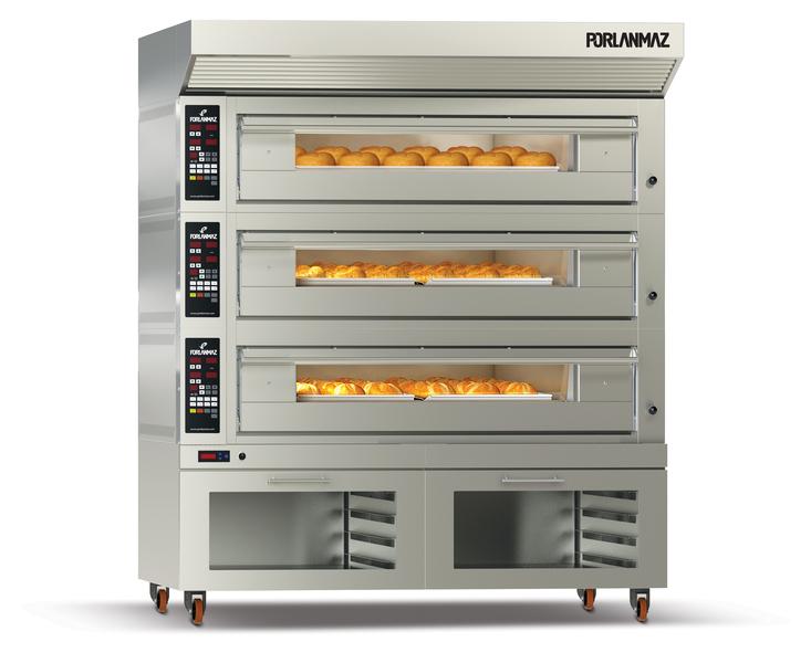Оборудование для пекарни - ярусные печи